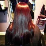 Burgundy Hair Color - Beauty Lounge