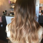 Dark chocolate blonde ombre - Beauty Lounge